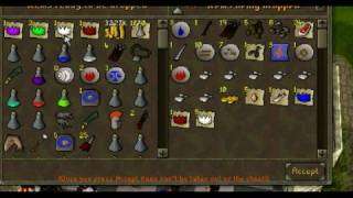 6 Lucky at Runescape Party room drop