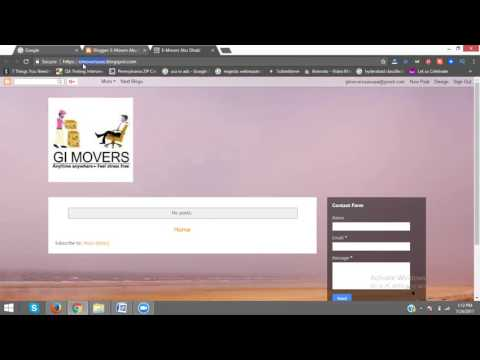 How to Change Blog URL   How To Remove Blogger Url Tutorials 2017  - Rakesh Tech Solutions