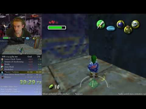 How to catch bugs (Majora's Mask Speedrunning)