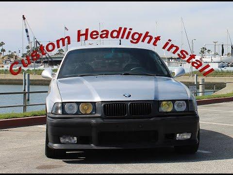 VLOG #2 - E36 Headlight Install Day