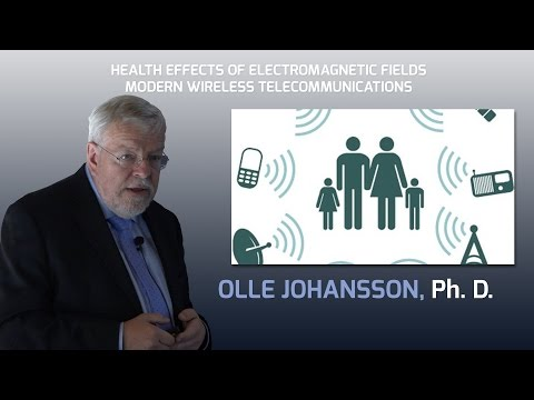 ADVERSE HEALTH EFFECTS OF ELECTROMAGNETIC POLLUTION -  Video of Lecture by Prof. Olle Johansson