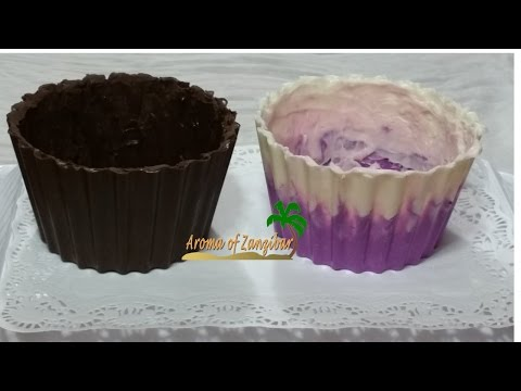Case/Mold for giant cupcake in English
