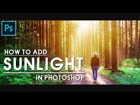 Photoshop Tutorial | How To Add Fake Sunlight In Photoshop