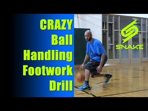 Crazy Basketball Footwork Drill For Handles (BREAK ANKLES)