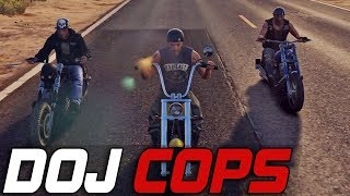 Dept. of Justice Cops #313 - Biker Business (Criminal)