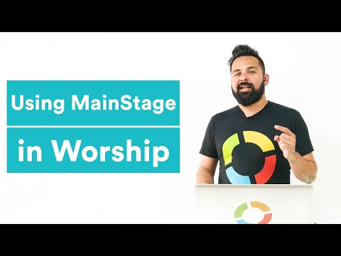 MainStage Tutorial - Creating a MainStage Session