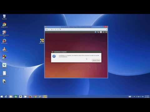 How to install Ubuntu 16.04 in VMware Player (Virtual Machine)
