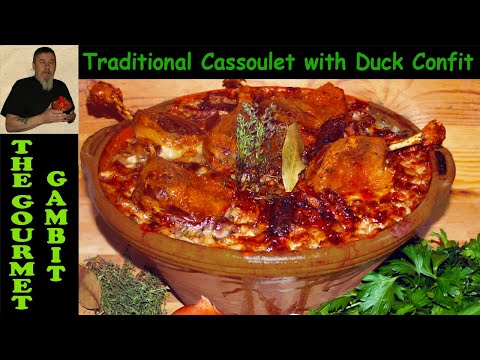 Original Cassoulet with Duck Confit, Toulouse Sausage and Pork Belly