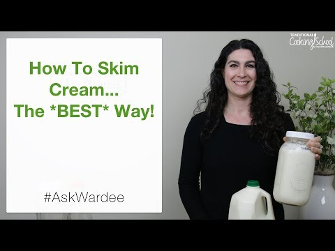 How To Skim Cream... The *Best* Way! | #AskWardee 114