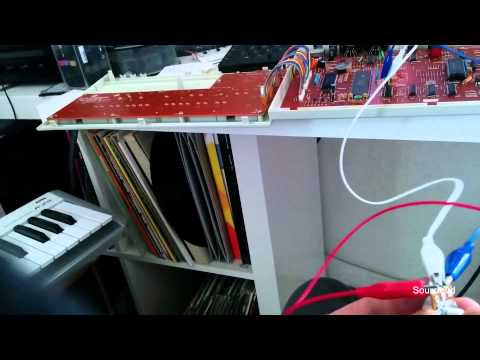 Roland TR-505 - global pitch modification