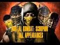 Download  Mortal Kombat Scorpion Appearances MK1 - MKX MP3,3GP,MP4