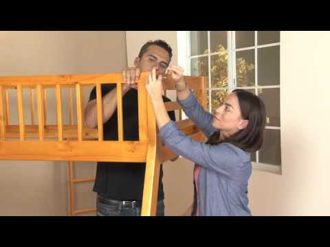 Jason Twin Full Bunk Bed Assembly video