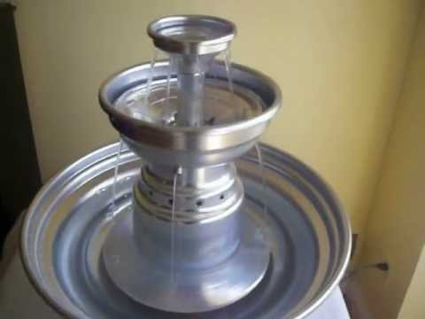 5 Gallon Stainless Steel Champagne Punch Fountain For SALE!