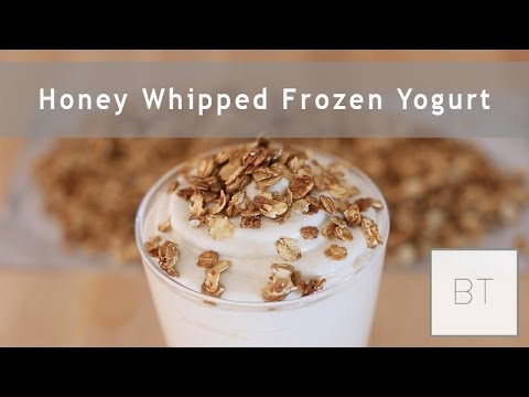Honey Whipped Frozen Yogurt