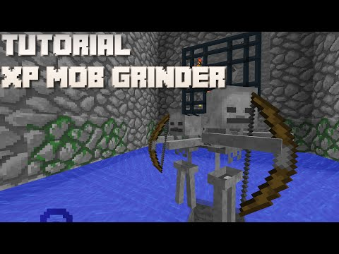 Minecraft: Mob Spawner XP Grinder Tutorial (1.7/8/9/10, Console, PE)