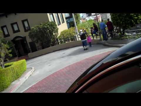 Driving Down Lombard Street