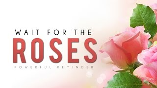 Wait For The Roses ᴴᴰ - Powerful Reminder