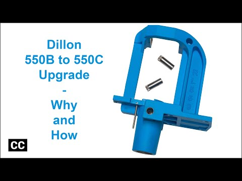 How To Upgrade A Dillon 550B To A 550C,ALEBP