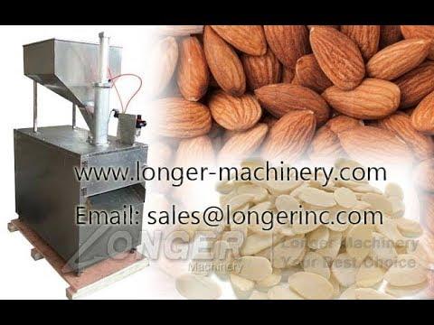 Almond Slice Machine|Commercial Nut Slice Cutting Machine For Peanut|Almond|Cashew Nut