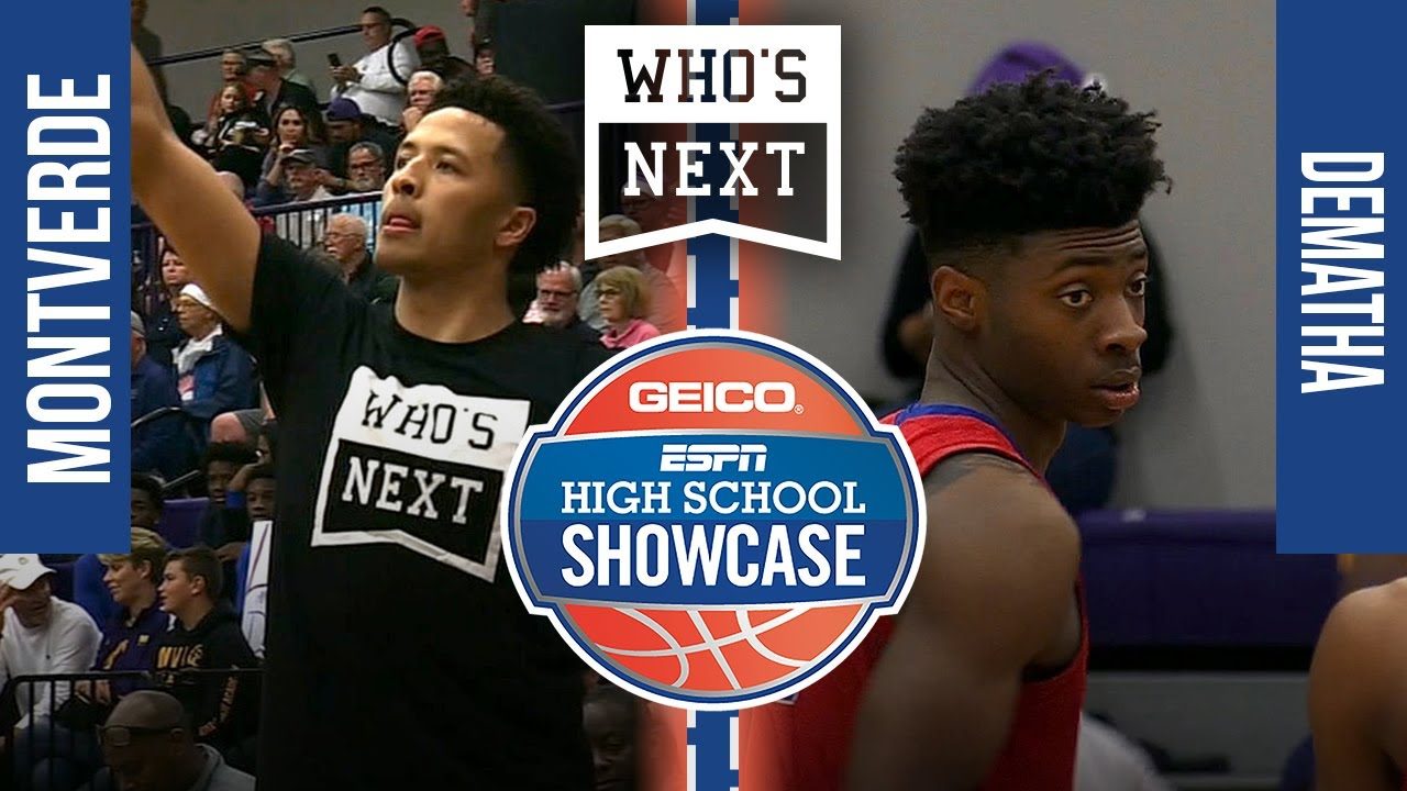 #1 MONTVERDE CAN'T BE STOPPED - DeMatha (MD) vs. Montverde (FL) - 2019 ESPN Showcase Broadcast