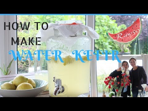 HOW TO MAKE WATER KEFIR/ 1 fermentation & 2 fermentation/