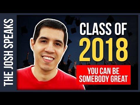 An INSPIRATIONAL Speech for the Graduating Class of 2018 🎓