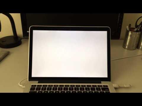 Retina Mac startup