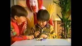 1994年 マクドナルド お子様セット ミニカー バービー人形 ハッピーセット