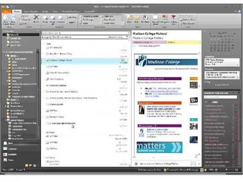 Outlook 2010 Adv - Section 1 - Advanced Email Features