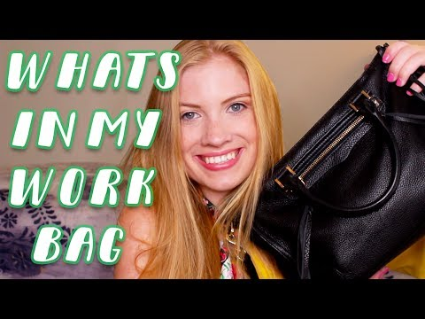 What's in my Work Bag? 2017 // NYC Summer Intern • Lottie Smalley