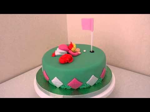 Golfers Fun Cake