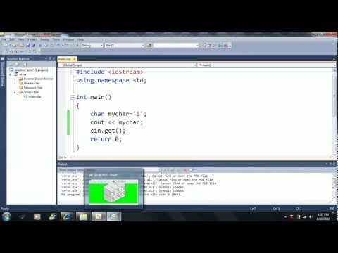 Lesson 48: Memory Addresses. Beginning Programming with Visual Studio C++ 2010