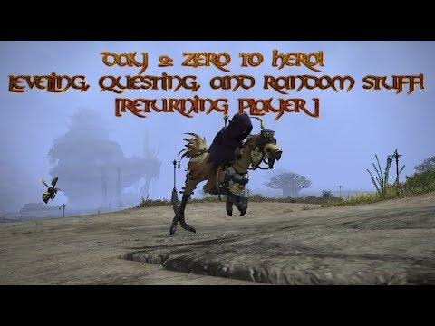Day 2: Zero to hero! Leveling and stuff!