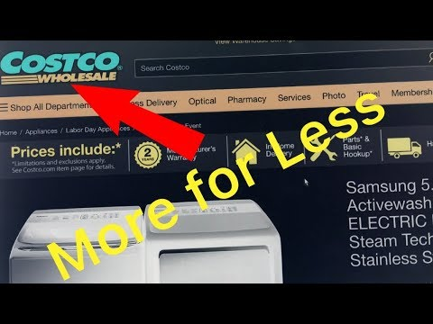 Purchasing a Samsung Washer/Dryer at Costco