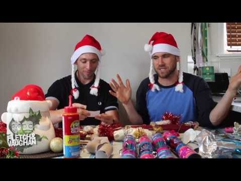 Fletch & Vaughan: How to make Christmas Crackers