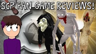 MORE SCP Fan Game Reviews!
