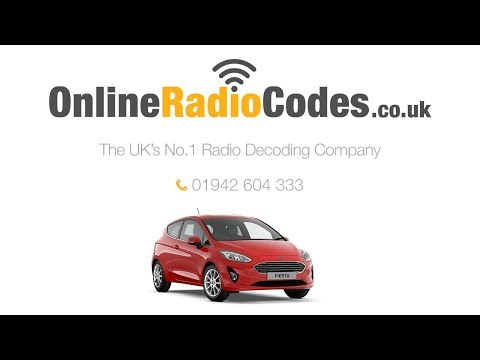 🚗 Ford Fiesta Radio Code Unlock Your Stereo With The Security Codes