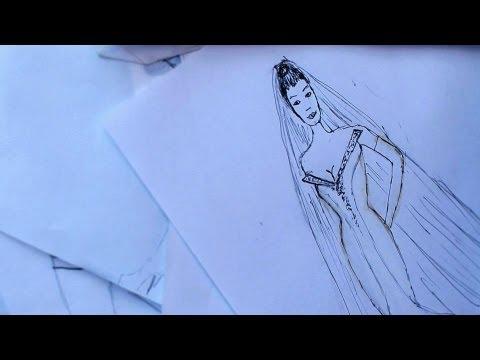 How to Put Together a Portfolio   Fashion Sketching