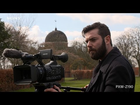 Sony| PXW-Z190 | Behind the Scene