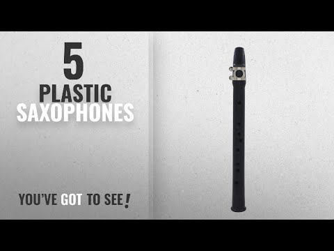 Top 10 Plastic Saxophones [2018]: ammoon Mini Pocket Saxophone Sax Eb Plastic with Reed Cleaning