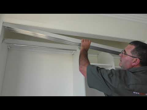 How to Install Sliding Wardrobe Doors