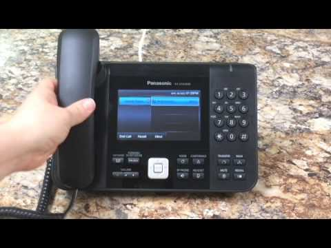 How to Make and Receive a Call on Panasonic KXUTG Phones on Clearsip