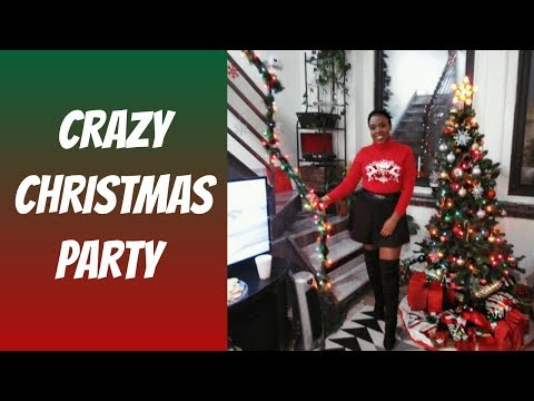 Christmas Party Vlogmas Day 20