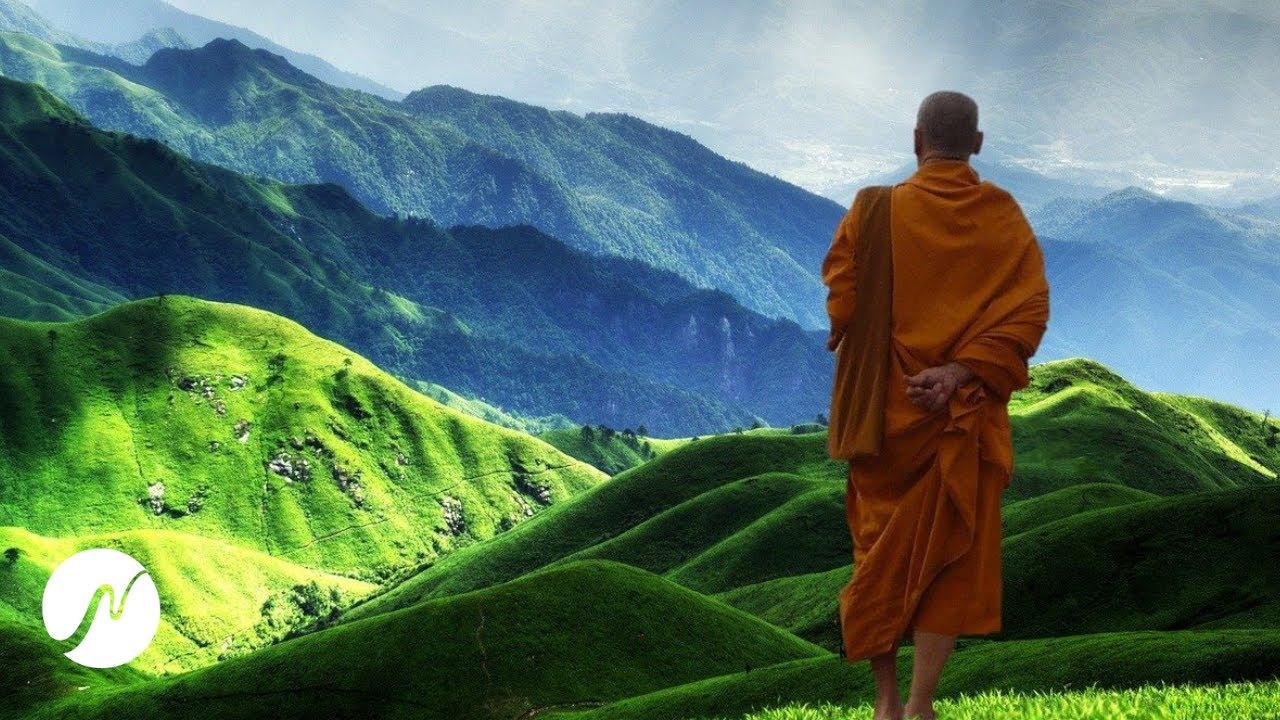 Der Klang des Universums - Starke Heilwirkung - OM Mantra Meditation (+ 7 Hz Theta-Wellen)
