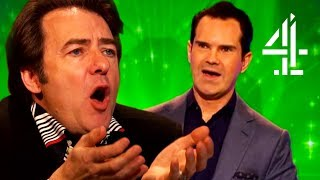 """""""You Massive Overpaid Pr***"""" - Jonathan Ross Gets Mad At Jimmy Carr 