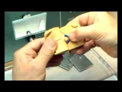 Making wax ring copies of a rubber mold