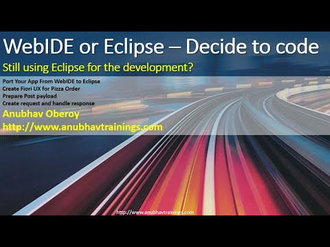 SAP WEBIDE or Eclipse What to use?