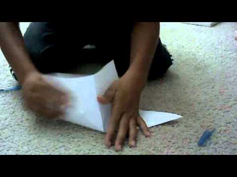 how to make a paper crane that flap its wings