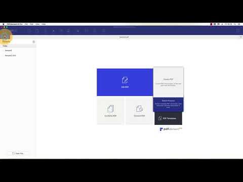 Wie man gescanntes PDF auf Mac zu Text konvertiert?