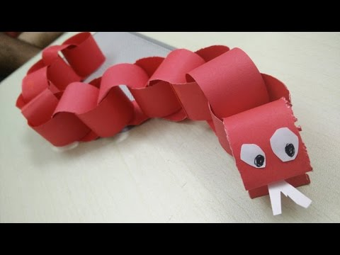 How to make a Paper Snake | Origami Snake | How to make snake with paper by Sparsh Hacks
